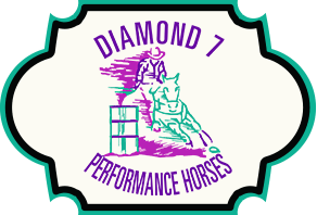 Diamond 7 Performance Horses logo